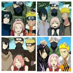 Team 7.. Sakura open your eyes already!!!!