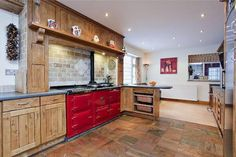 Find properties to buy in Ashover with the UK's largest data-driven property portal. View our wide selection of houses and flats for sale in Ashover. Aga Kitchen, Kitchen Ideas, Kitchen Decor, Kitchen Design, Kitchen Cabinets, Kitchen Modern, Best Cooker, Aga Cooker, Aga Stove