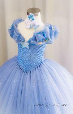 26 Ideas for baby dress birthday diy tutu Cinderella Tutu Dress, Princess Tutu Dresses, Disney Dresses, Tulle Dress, Cinderella 2015, Diy Princess Costume, Disney Tutu, Crochet Tutu Dress, Frozen Tutu Dress