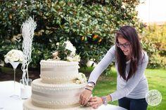 Preparation wedding cake