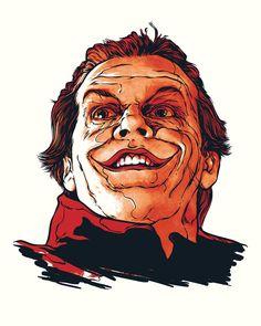 The art portfolio of artist Joshua Budich Joker Dc Comics, Joker Batman, Marvel Comics, Art Du Joker, Joker Et Harley, Michael Keaton Batman, Joker Pics, Films Cinema, Vader Star Wars