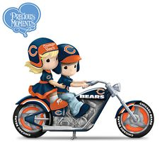 """""""Highway To The Top"""" Chicago Bears Precious Moments Figurine Collection"""