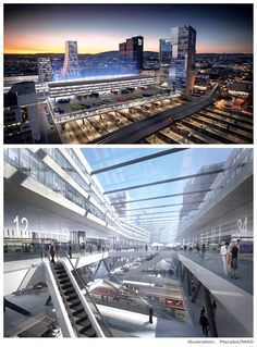 MAD about Oslo's new Bus Terminal! MAD in collaboration Cowi, client: Ruter