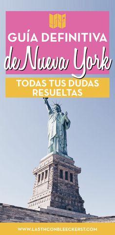 [GUÍA] Planifica tu viaje a Nueva York y no te olvides de ningún detalle importante. #NuevaYork #NewYork New York Travel, Us Travel, Travel Tips, Ny Ny, Mo S, Future Travel, World Traveler, Where To Go, Liverpool