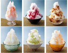 Vamos refrescar? かき氷 Kakigōri, rapadinha de gelo