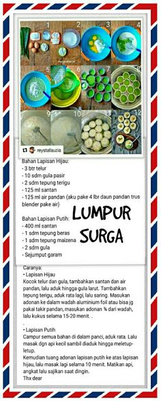 Kue Lumpur Surga Food N, Food And Drink, Cooking Time, Cooking Recipes, Asian Cake, Steamed Cake, Secret Recipe, Indonesian Food, Dessert Recipes
