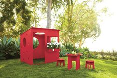 Loki Playhouse Set - Accessories - Outdoor - Room & Board  @CircleofMoms #WhyKidsLoveSummer.