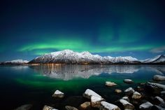 Aurora over Forfjord Photo by Marius Birkeland — National Geographic Your Shot