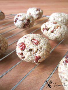 Date sugar & barberries Cookies