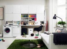 Interieur ideeën voor de washok | Inrichting-huis.com