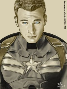 Fan art of Steve Rogers