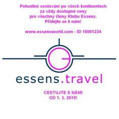 Přidej se k nám a využívej výhod při nákupu letenek a ubytování. #essens #travel #flights #hotels #accomodation #essensostrava How To Fly Cheap, All Continents, Marketing, Travel, Viajes, Destinations, Traveling, Trips