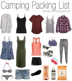 What to Pack for Camping