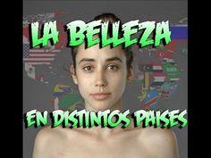 Estandares de belleza en 25 países - 25 countries photoshop Esther Honig to make her beautiful - YouTube