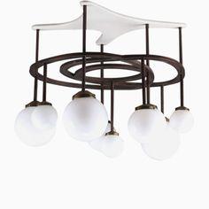 Deckenlampe von Yves Faucheur, 1970er Jetzt bestellen unter: https://moebel.ladendirekt.de/lampen/deckenleuchten/deckenlampen/?uid=2fcfe5c5-00c7-5d37-9bbd-e086a2a34267&utm_source=pinterest&utm_medium=pin&utm_campaign=boards #deckenleuchten #lampen #deckenlampen Bild Quelle: pamono.com