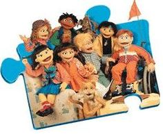 The Puzzle Place.... LOVED this TV show when I was little.