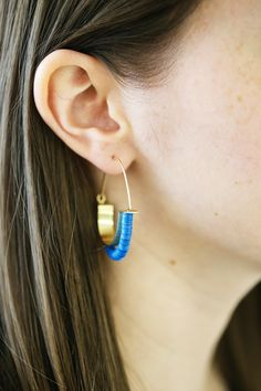 The Temple Hoops are a huge hit! These guys are gold fill, so they will last for years, and are great for those with sensitive ears. mooreaseal.com
