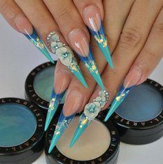Stiletto Nails....Wild