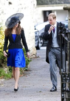 Kate Middleton Photos: Prince William and Kate Middleton attend a Wedding