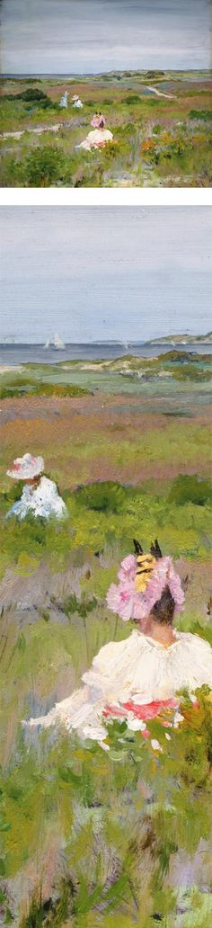 Shinnecock, Long Island, William Merritt Chase