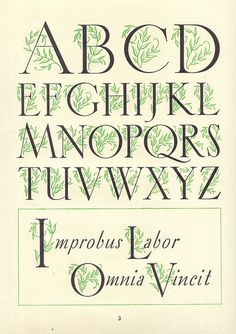 Arti Letter-Book 3 - Fancy Letters (1949)