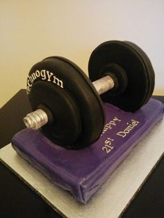 """Gotta go to the gym now – for my birthday cake fix! Related posts: Busy weekend with cakes Another """"…Ology"""" Baby Cake Two for One Chocolate Cakes 40th Birthday Cakes For Men, Birthday Cake For Husband, Birthday Presents For Her, Birthday Gifts For Teens, Cake Birthday, 23rd Birthday, Happy Birthday, Birthday Greetings For Brother, Gym Cake"""