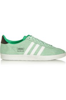 adidas Originals Gazelle OG suede and leather sneakers | NET-A-PORTER
