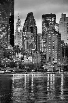 gotham, nyc, new york city, new york, ny, manhattan,nyc skyline, skylines, sky line, sky lines,city, cities, nyny, night, nights, the big apple, nighttime, dark, night time, nightime, east river, rivers, landmark, landmarks, midtown, ,queens,chrysler building,chrysler building ny, chrysler building nyc,art deco,new york city,queens ny, buidings,architecture,nyc skyline, new york syline,new york city skyline, perspectives,roosevelt island ,black and white, bw, sepia