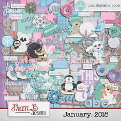 January: 2018 by FranB Designs - https://www.plaindigitalwrapper.com/shoppe/product.php?productid=15040