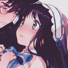 Anime Couples Cuddling, Cute Anime Couples, Anime Couples Drawings, Couple Drawings, Aesthetic Art, Aesthetic Anime, Gothic Anime, Matching Profile Pictures, Character Design Girl