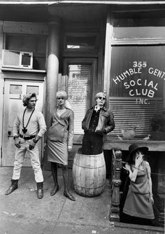 Andy Warhol and Ingrid. Photographer Larry Fink