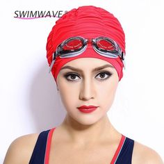 Summer Waterproof Sports Swimming Caps Nylon Stretch Elastic Flexible Breathable Bathing Hats Free size for Men & Women Adults