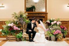 アンティークな空間とお花が咲き誇る中庭に憧れて、代官山のリストランASOで行われた… Photography Backdrops, Photo Backdrops, Wedding Tattoos, Bridesmaid Dresses, Wedding Dresses, Outdoor Art, Wedding Coordinator, Wedding Images, Children Photography