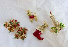 Ugly Vintage 1960's  1970's Christmas by LauraDarlingDeluxe, $14.00