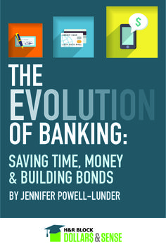 The Evolution of Banking: How Automation Saves Time, Teaches #Money Management & Builds Bonds #history #tech