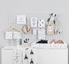 Babykamer Indians Collectie van Jollein te verkrijgen bij Slaaptextiel.nl #indians #babykamer #jollein