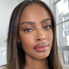Shop the latest styles and treands here and now! Beauty Skin, Beauty Makeup, Hair Makeup, Hair Beauty, Makeup Inspo, Makeup Inspiration, Makeup For Black Skin, Which Hair Colour, Pretty Brown Eyes