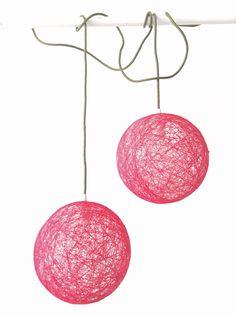 Un favorito personal de mi tienda Etsy https://www.etsy.com/es/listing/246676450/sphere-lampara-esfera-roja-con