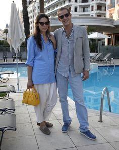 Look di coppia: Andrea Casiraghi & Tatiana Santo Domingo