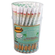 Bucket of Smart Smencils (Improve Your Test Scores) - 50 Peppermint