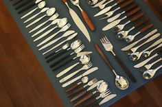 Cool collection of really great Scandinavian vintage flatware!
