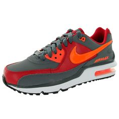 e8586eb79e43 Hit the road running with these grey sneakers from Nike . These lightweight  soles feature a