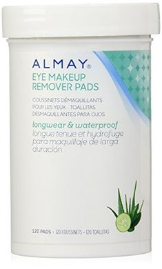 Almay Longwear Waterproof Eye Makeup Remover Pads, 120 Counts #eye # makeup