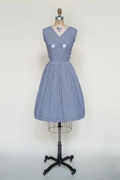 1950s day dress from Dalena Vintage
