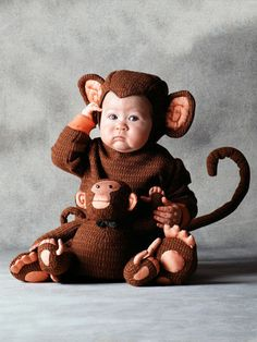 Tom Arma Monkey Costume - If I had a kid this would be their costume