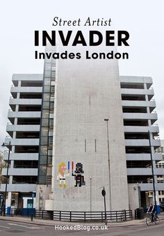 French Street Artist Invader hits London with a new invasion of work.