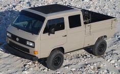 Volkswagen Routan, T3 Vw, Volkswagen Bus, Vw Camper, 504 Pick Up, Transporter T3, Vw Pickup, Vw Vanagon, Combi Vw