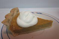 Amazing pumpkin pie!