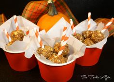 Fall favorite flavors of pumpkin spice are packed in these No-bake Pumpkin #WheyProtein Bites! #recipe