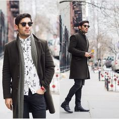 Topman In The Snow #fashion #mensfashion #menswear #mensstyle #streetstyle #style #outfit #ootd